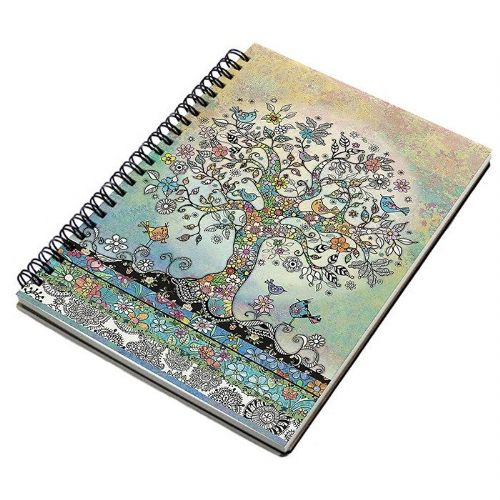 Bug Art Collection Tree of Birds A5 Notebook Pad